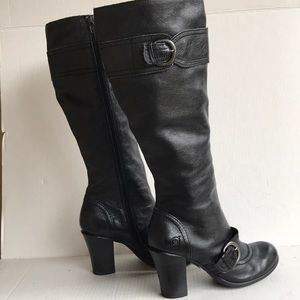 Born Knee High Leather Boots 8M